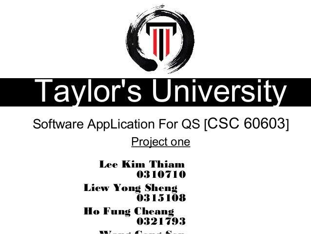 Software application (QS)