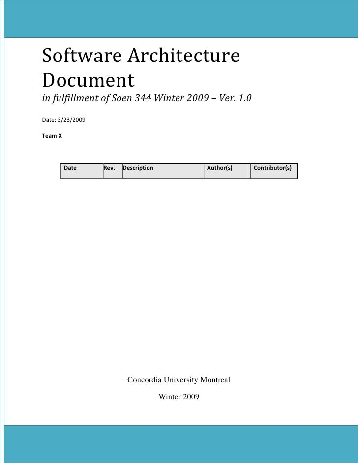 software architecture document final. Black Bedroom Furniture Sets. Home Design Ideas