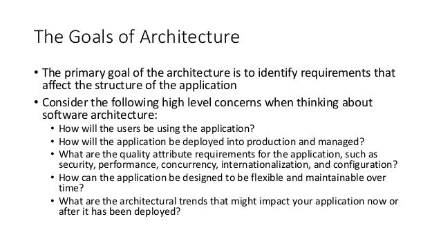 software architecture introduction. Black Bedroom Furniture Sets. Home Design Ideas