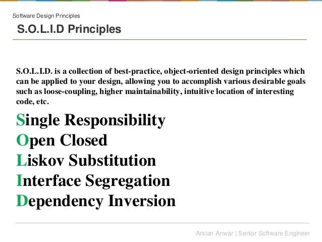 Software Architecture Vs Design