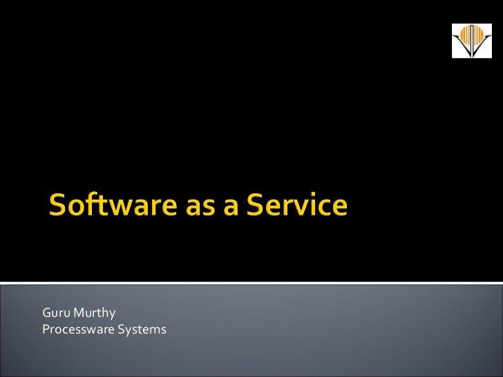 Guru Murthy Processware Systems