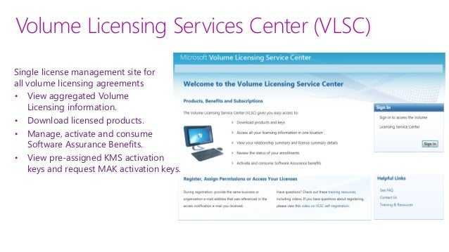 microsoft volume licensing contracts