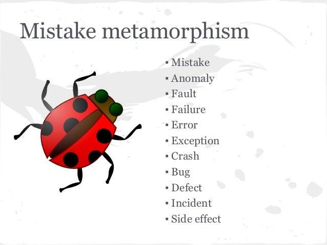 Software bugs Slide 3