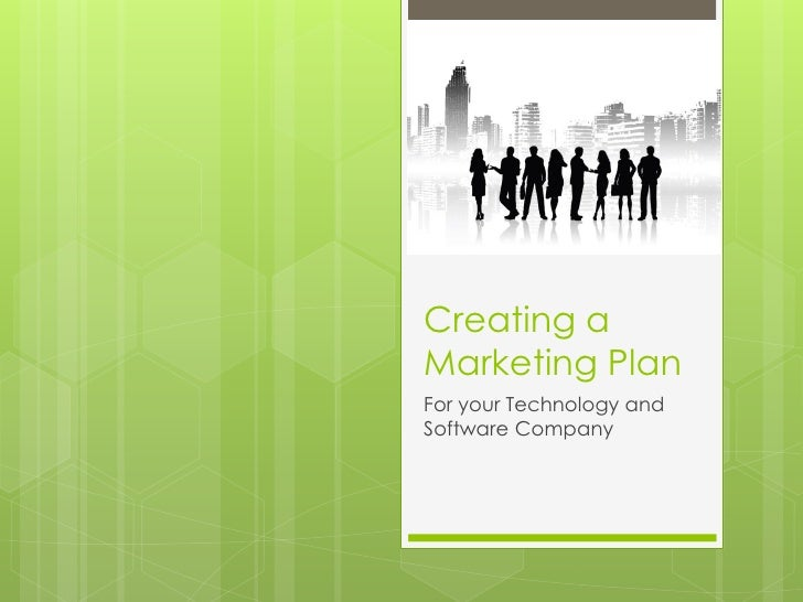 Software company marketing plan outline – Marketing Plan Outline