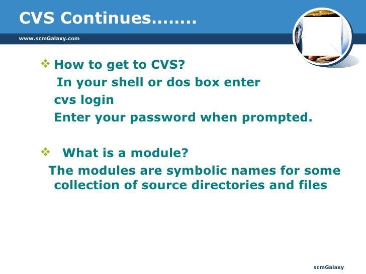 Software Configuration Management And CVS