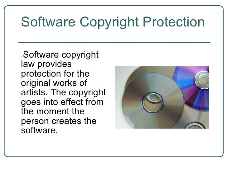 Software copyright protection