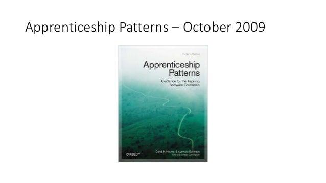 Apprenticeship Patterns – October 2009