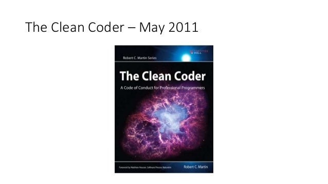 The Clean Coder – May 2011