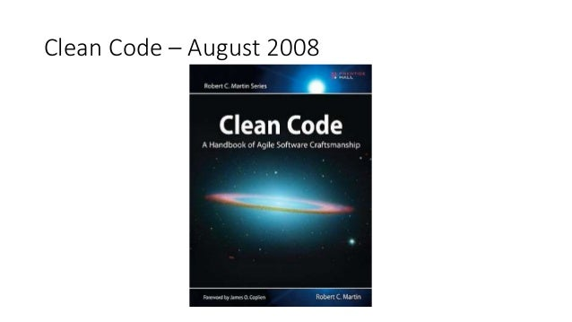 Clean Code – August 2008