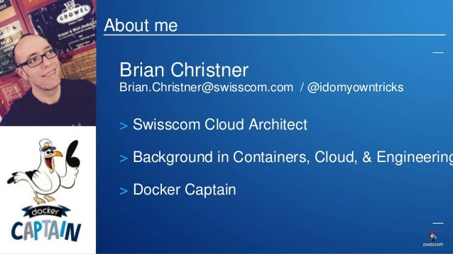 Agenda • Introduction • Why Docker? • Containers vs VM's • Use Case • Demo 4