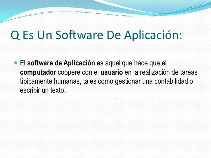 software de aplicacion essay Desarrollo de aplicaciones de salesforce projects for $10 - $30 develop software using salesforce.