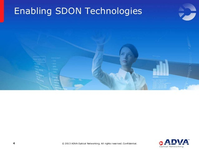 © 2013 ADVA Optical Networking. All rights reserved. Confidential.44 Enabling SDON Technologies
