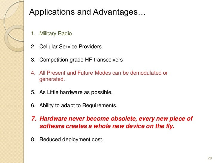 Software Defined Radio Definitionclevervia
