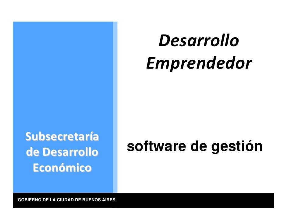 Desarrollo                                           Emprendedor     Subsecretaría   deDesarrollo                     ...