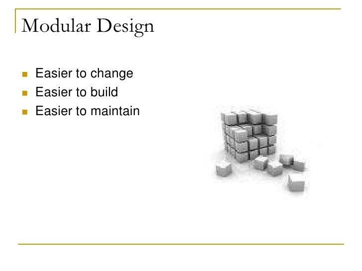 Software design for Define prefabricated