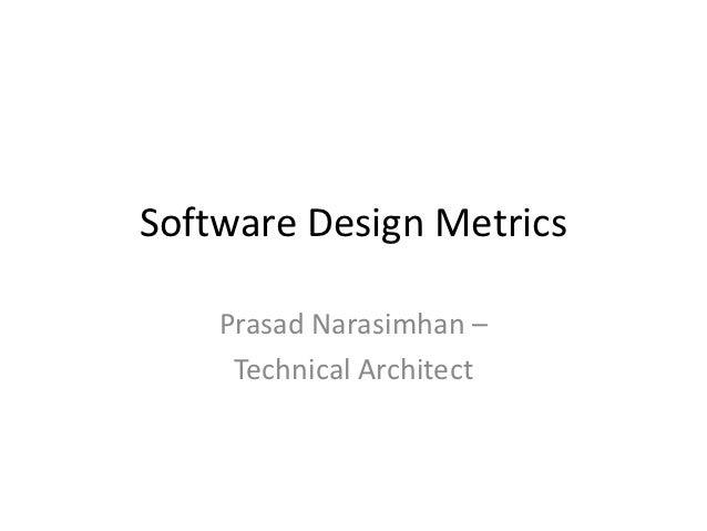 Software Design Metrics