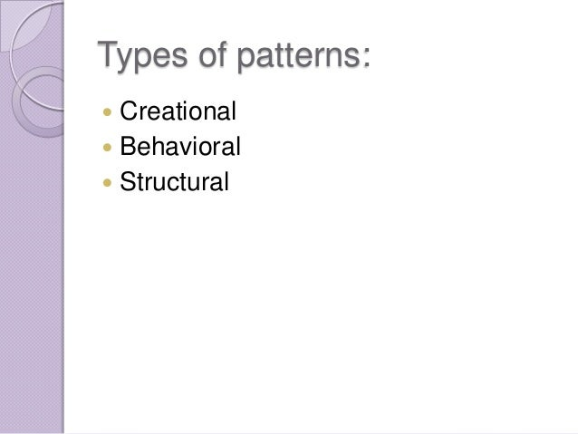 Software Design Patterns Ppt