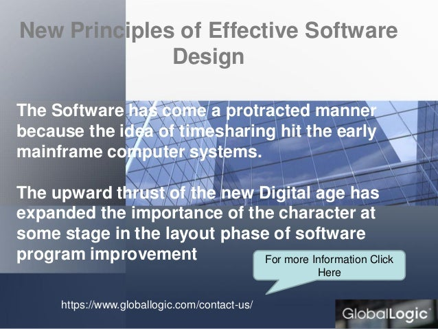 New And Effective Principles Of Software Design