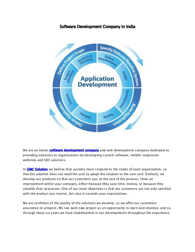 Software Development Company in India We are an Indian software development company and web development company dedicated ...