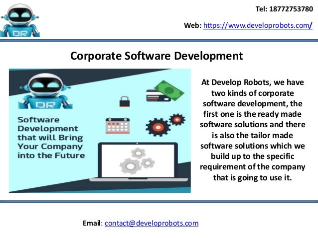 how to develop a software company