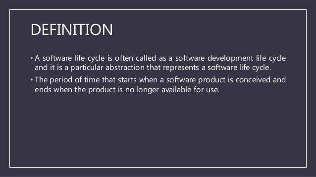 Software development life cycle (SDLC) Slide 2