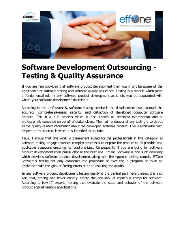 Technology Management Image: Software Development Outsourcing