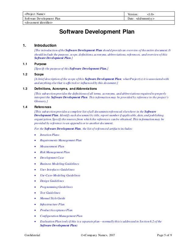software development plan template. Black Bedroom Furniture Sets. Home Design Ideas