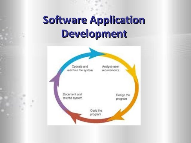 Software ApplicationSoftware Application DevelopmentDevelopment