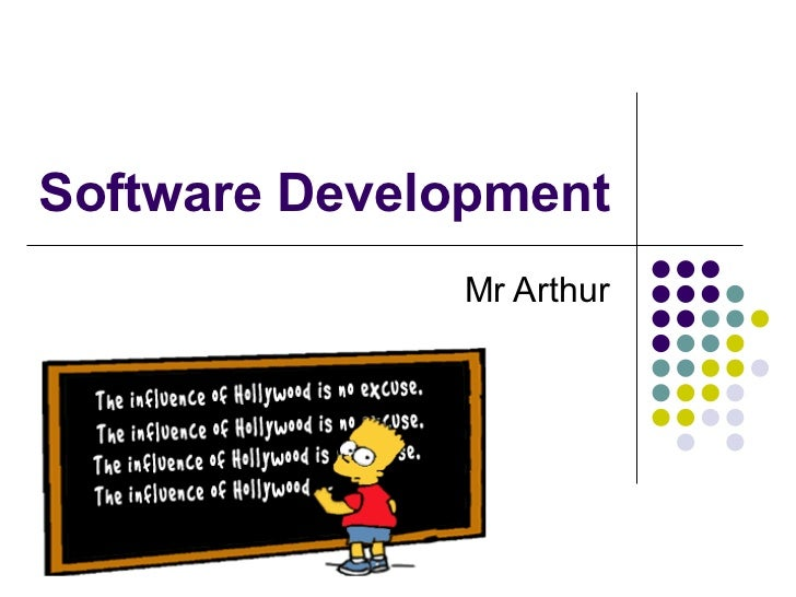 Software Development Mr Arthur