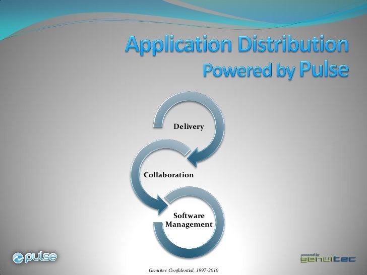 DeliveryCollaboration         Software        Management Genuitec Confidential, 1997-2010