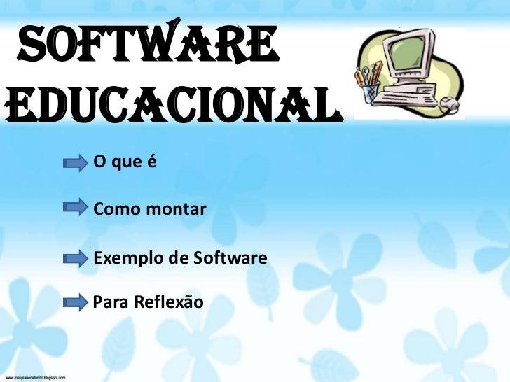 Software educacional roseli