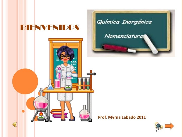 Prof. Myrna Labado 2011 BIENVENIDOS