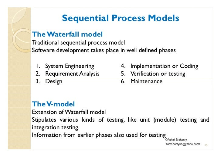 software development, process model, requirement engineering