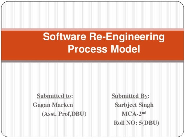 software  engineering process model