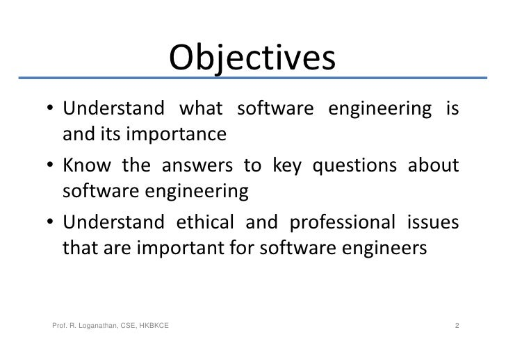 the importance of software engineering Given the importance of motivating software engineers, we conduct a systematic  literature review of what motivates software engineers and whether software.