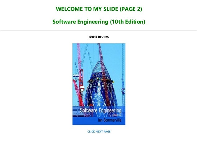 Software engineering tenth edition ian sommerville pdf format