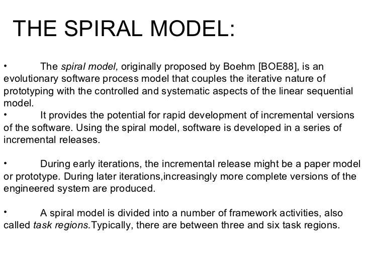 spiral model diagram 8 - Process Modeling Ppt