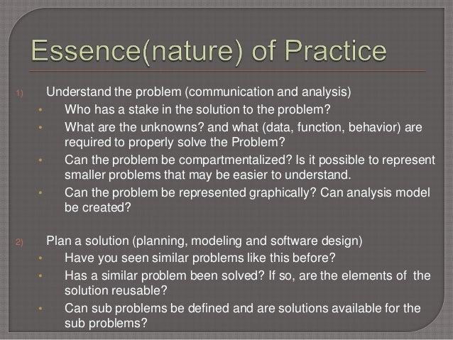 Software Engineering Practice
