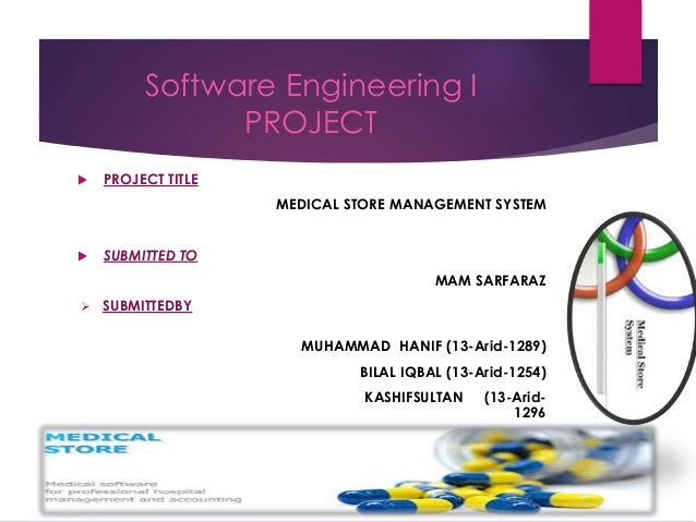 Medical Store Software System in .Net