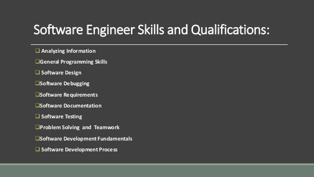 Software Engineer Job Responsibilities