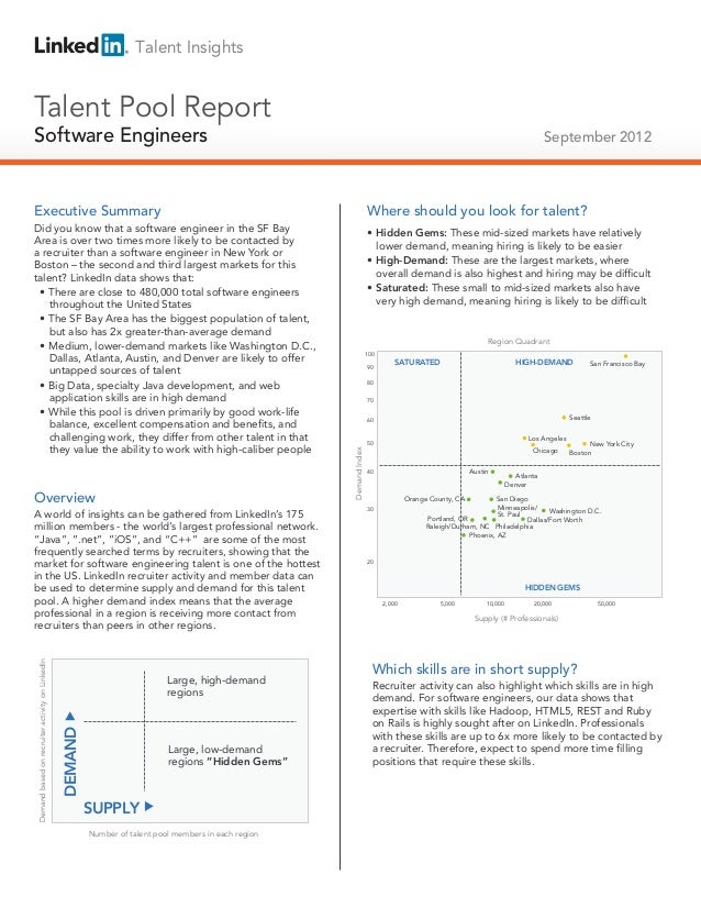 Talent InsightsTalent Pool ReportSoftware EngineersTechnical Salespeople                                                  ...
