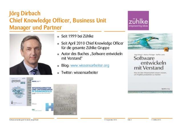 Pionierbasis Konferenz 17.11.2013: Softwareentwicklung mit Verstand Slide 2