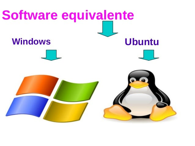 Software equivalente Windows Ubuntu