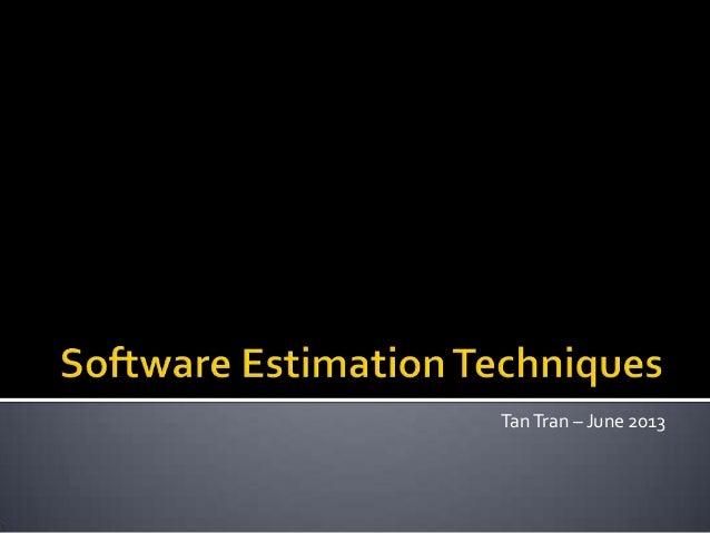 TanTran – June 2013