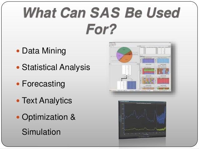 statistical analysis sas software
