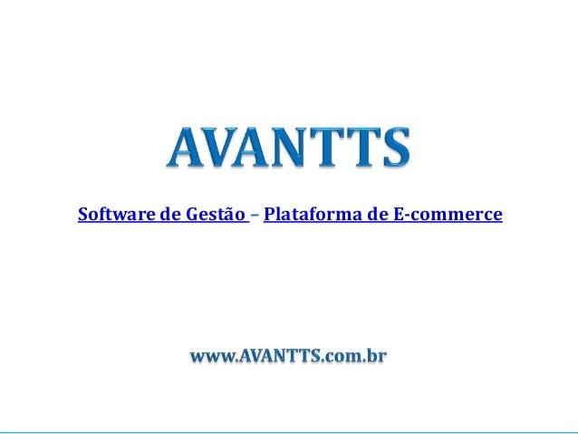 Software de Gestão – Plataforma de E-commerce