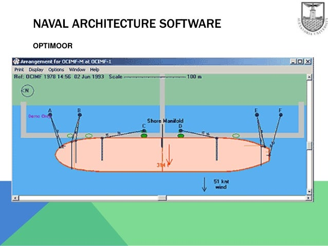 Naval Architectural Engineering : Software in naval architecture and marine engineering