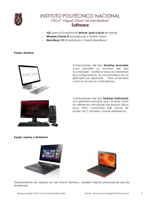 Introduccion Software elbragao69 Prof. Carlos Montiel R. Slide 3