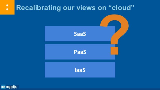 IaaS and Foundational PaaS are quickly becoming an undifferentiated commodity