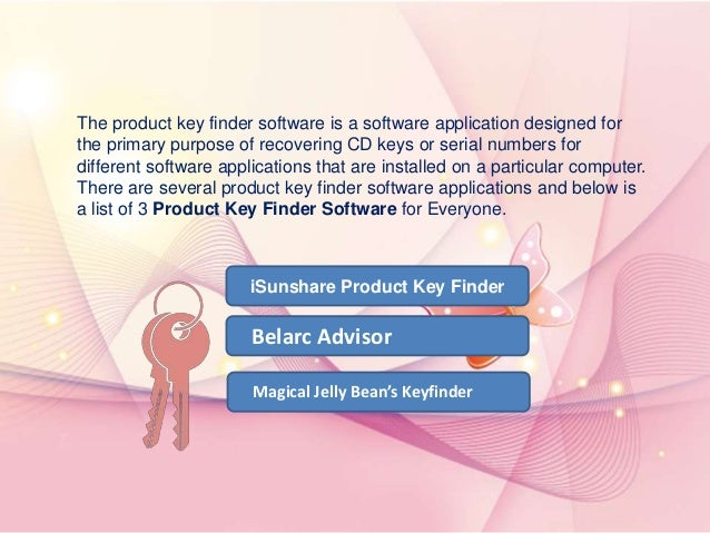 product key finder free download